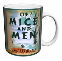 Of Mice And Men John Steinbeck Book Cover Coffee Mug, 11 Oz, Boxed, Culturenik