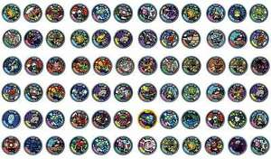 Yo-Kai-Yokai-Medals-Series-1-CHOOSE-medal-from-blind-bags-for-yo-kai-watch