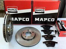 Mapco Bremsensatz Ø288mm + VORN GT/GTI/VR6 5-Loch VW Golf VR6 , VW Passat VR6