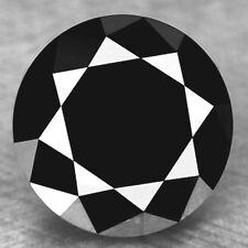 5.02 carat huge natural loose black diamond round brilliant cut buy online
