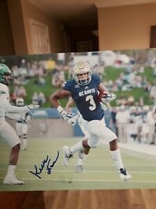 superior quality 64ddf c3aa8 Details about Keelan Doss UC Davis Football Signed 8x10 Photo NFL