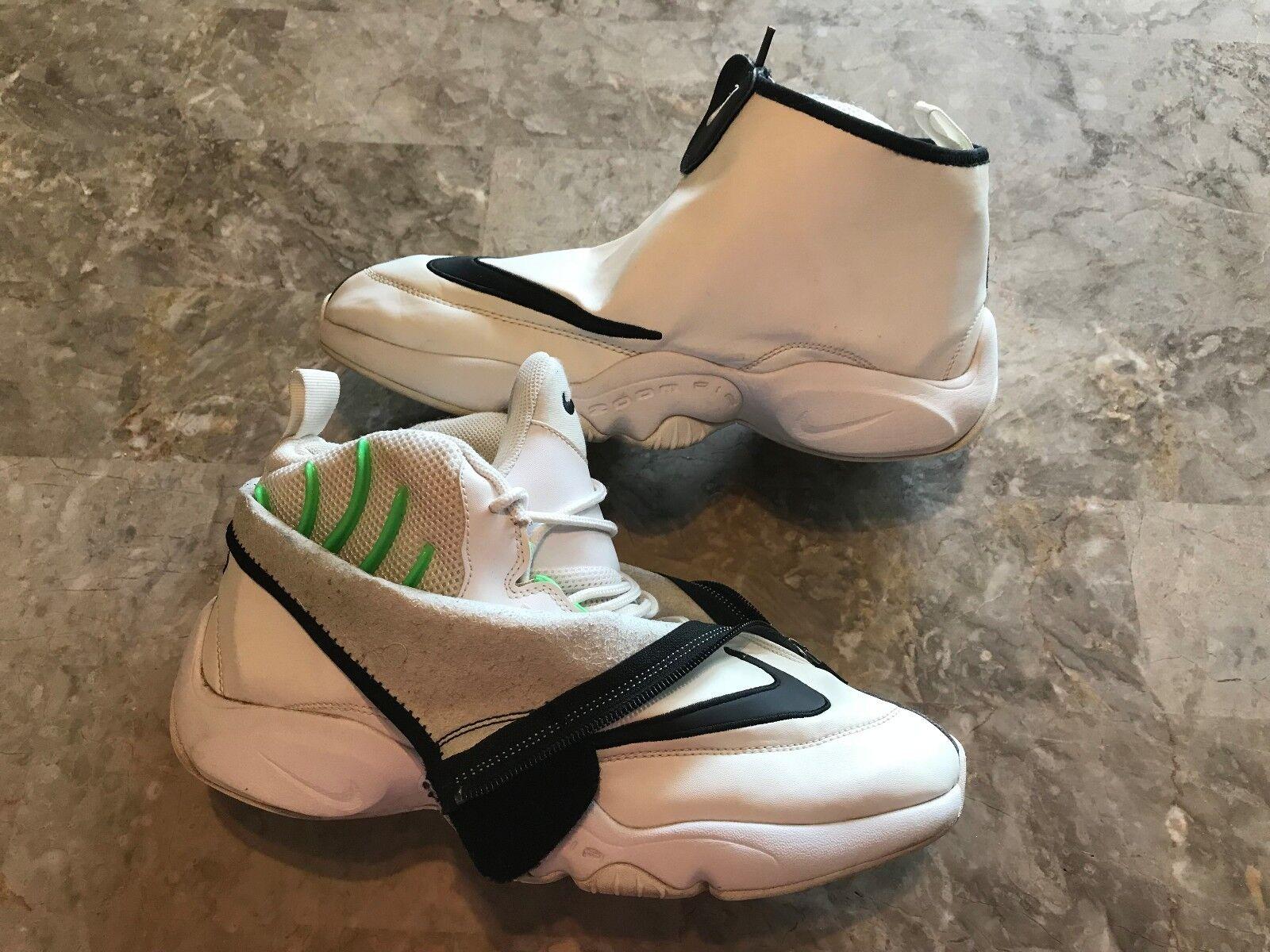 Nike Air Zoom Flight el guante veneno SL negro blanco verde veneno guante Comodo dbe7fc