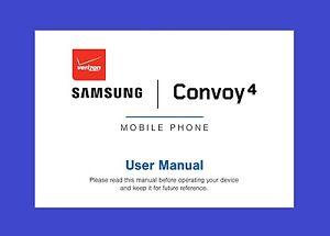 samsung convoy 4 user manual for verizon model sm b690v. Black Bedroom Furniture Sets. Home Design Ideas