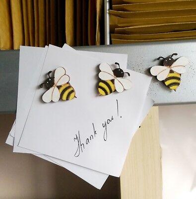 Five cute ladybird  fridge,memo,decor magnets.A little gift idea Just £ 1.80