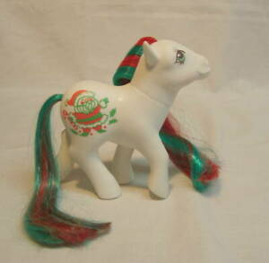 Vintage G1 Hasbro My Little Pony Merry Treat Christmas Pony Santa Claus Stunning Ebay