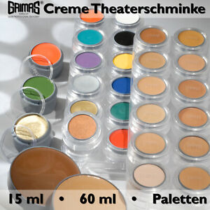Grimas Creme Make up Weiss 2,5 ml Kinderfest N.001