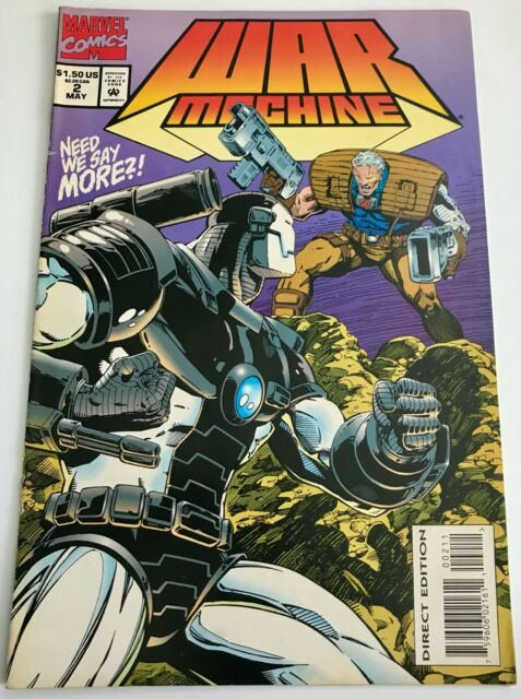 Marvel Comics War Machine Vol 1 May 1994 2 For Sale Online Ebay