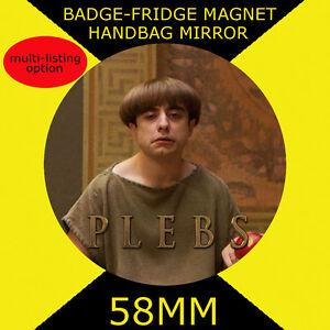 58mm BADGE-FRIDGE MAGNET OR HANDBAG MIRROR CD5678 #7 BAY CITY ROLLERS
