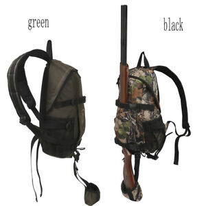 Tourbon-Hunting-Backpack-Rifle-Shotgun-Holder-Molle-Bag-Daypack-Tatcial-Shooting