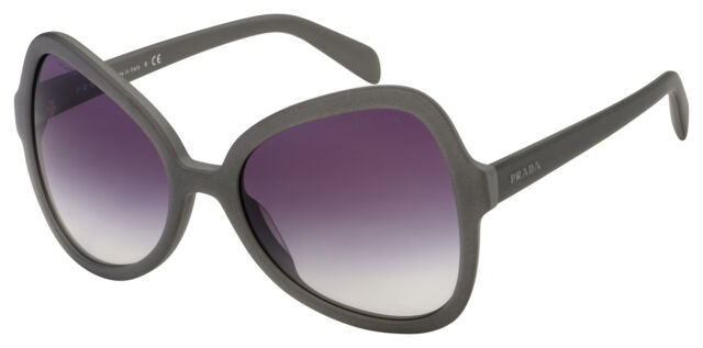 Ufg Spr 05ss 4w1 Violet Designer Prada Gray Auth Pr 05s Matte Sunglasses R3AL54qj