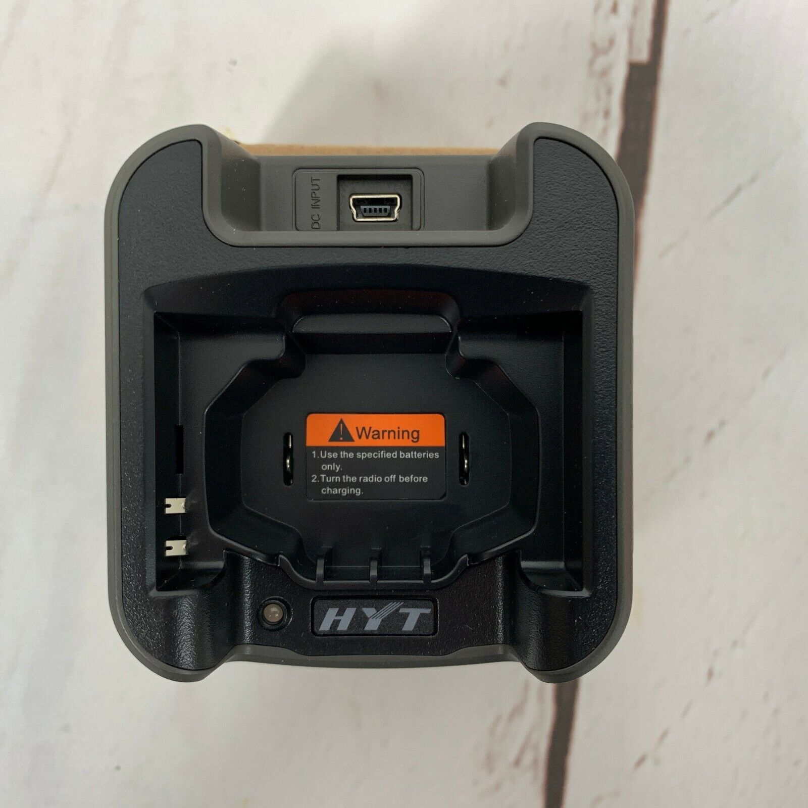 NEW HYT CH05L01 DESKTOP CHARGER TRAY NO A//C ADAPTER FOR HYT TC-320 TC320