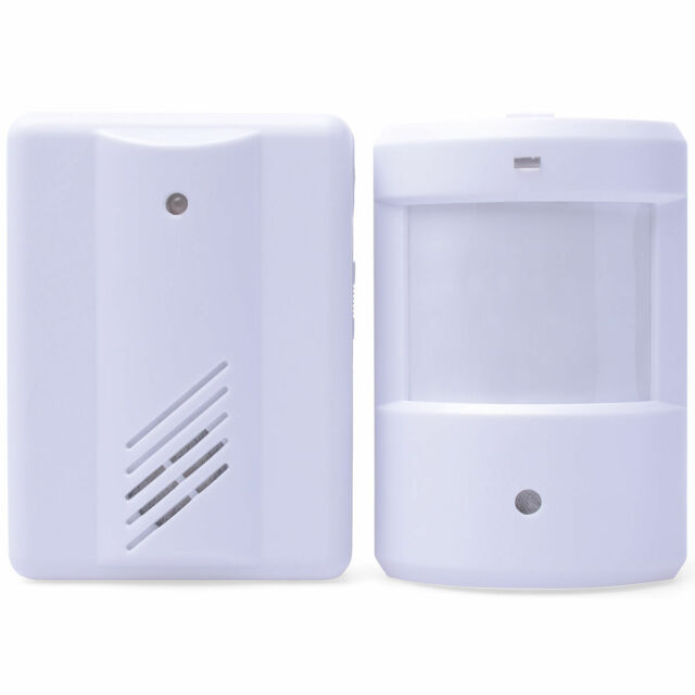 Shop Visitor Entry Door Bell Chime Welcome Motion Sensor Wireless