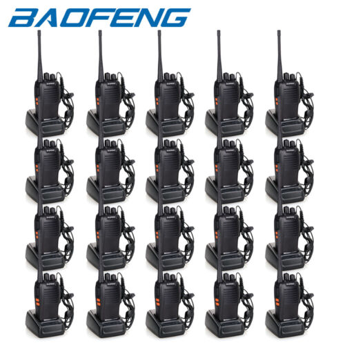 20 x Baofeng BF-777S 5W Two Way Radio Walkie Talkie UHF Portable 16CH Ham Radios