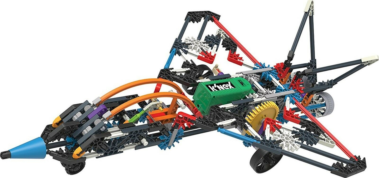 KNEX Turbo Jet Engineering Building Set Ages 7+ Girls Boys Educational Toy Play