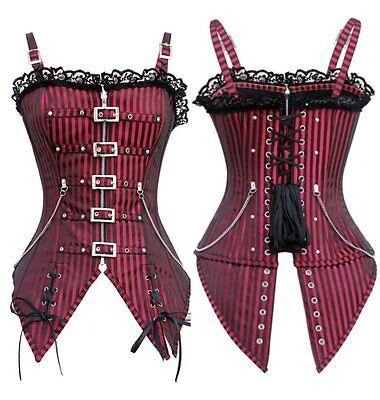 sexy corsetto bustino burlesque stringivita lingerie intimo donna 5288
