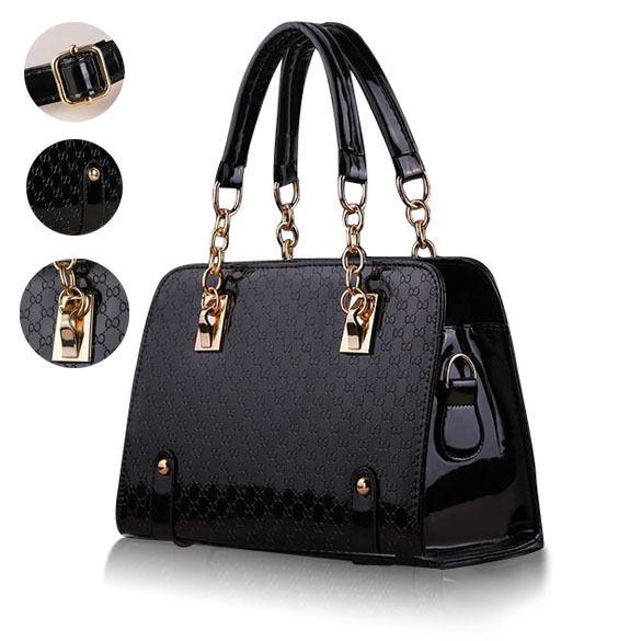 Ladies Women Handbag Shoulder Bags Tote Purse Faux Leather Messenger Party Bag