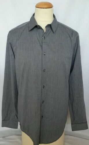 $195.00 NewWithTags Classic Style THEORY EclipseWhite L Dress Shirt MakeAnOffer