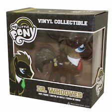 RARE MY LITTLE PONY DR WHOOVES CLEAR GLITTER VINYL FIGURE FUNKO DOCTOR WHO