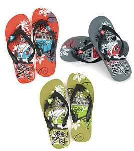Playa-urbana-CHILDS-BUG-Flip-Flop-Ninos-Junior-Kids-Sandalias-Zapatos-Talla-13-5-Nuevo