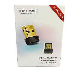 TP-LINK WiFi Nano Micro USB Adapter 150Mbps Wireless-TL-WN725N