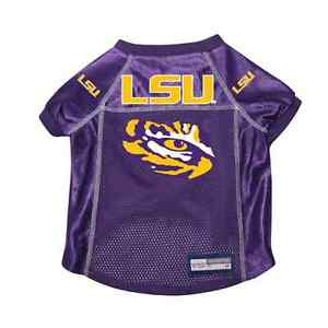 NEW-LSU-TIGERS-DOG-PET-PREMIUM-ALTERNATE-JERSEY-w-NAME-TAG-ALL-SIZES