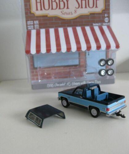 1986 Chevrolet K-5 Blazer 4 Extra Wheels *** Greenlight Hobby 1:64 OVP