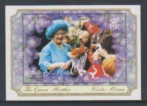 Isle-von-Mann-2000-Queen-Mother-Blatt-MNH-Sg-MS881