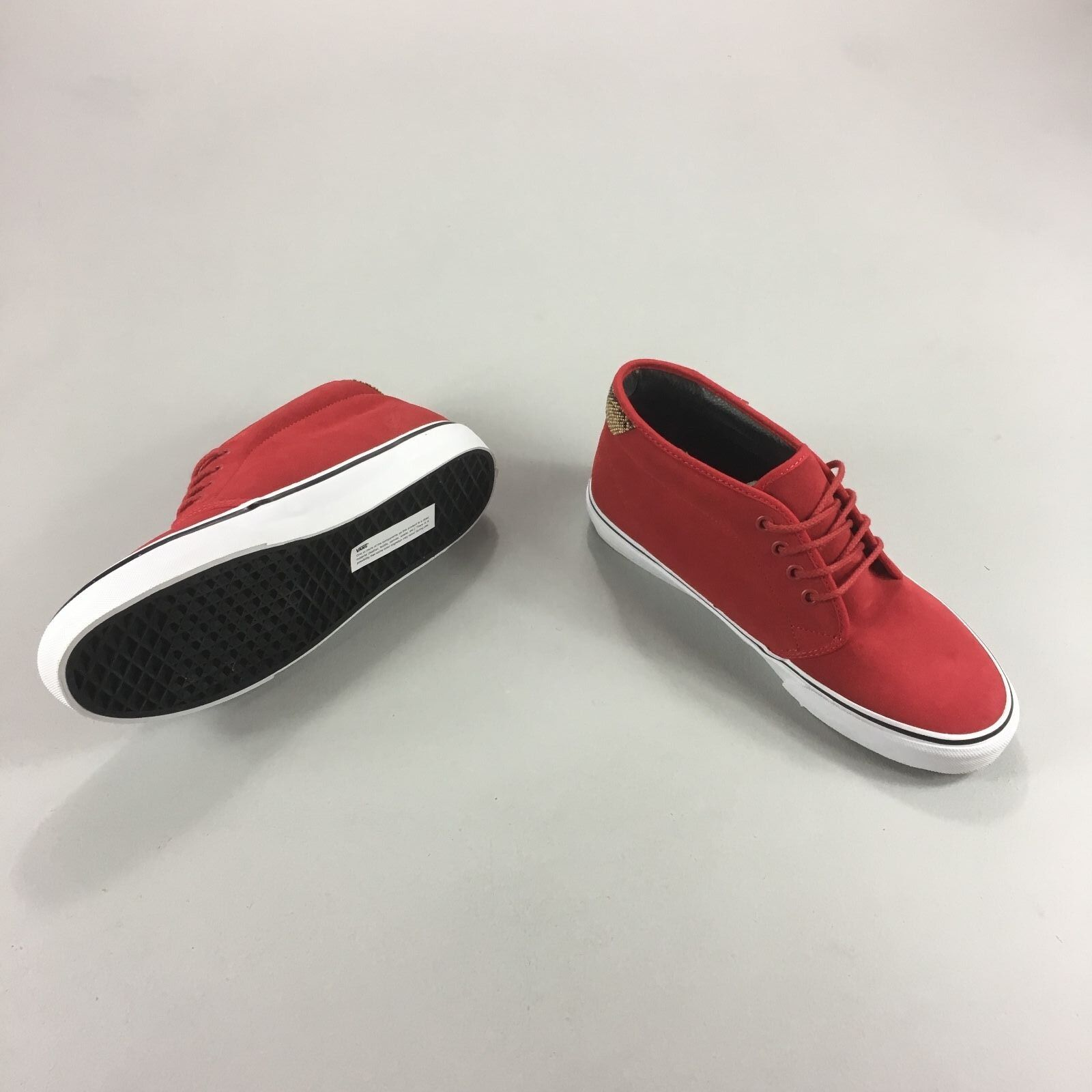 Vans Chukka 69 Trainers Pumps Brand new in box 6,8, in ROT UK Größe 6,8, box 99ce76