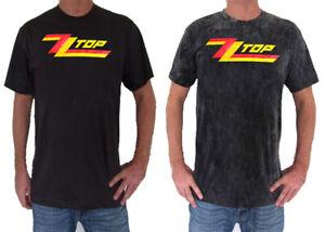 Unisex-ZZ-Top-T-Shirt-Short-Sleeve-Rock-Mens-Womens-Ladies