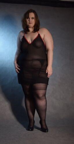 LOT OF classic stockings plus size 3XL 4XL UK 14-20 EU 46-50 for garter belt