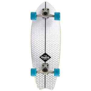 """Mindless surfskate cola de pescado completa Cruiser - 29.75"""" - Blanco"""