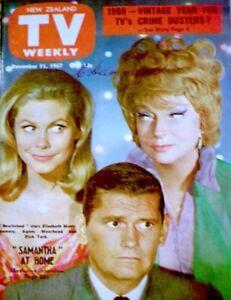 TV-Guide-1967-Bewitched-Elizabeth-Montgomery-Moorehead-York-International-COA