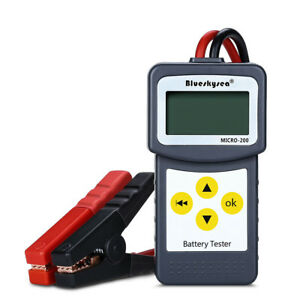 LANCOL-MICRO-200-DC-12V-Batterietester-Analyse-W-Drucker-Funktion-EFB-AGM-GEL-RS