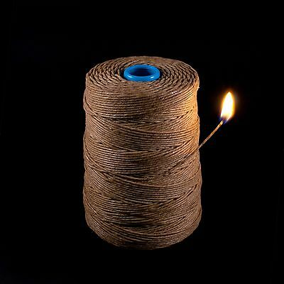 Kush Hemp Wick 800 feet Best Deal on Bee Rope Hemp Line Hempwick Wax String
