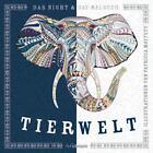 Night & Day-Malbuch: Tierwelt von Patricia Moffett (2016, Kunststoff-Einband)