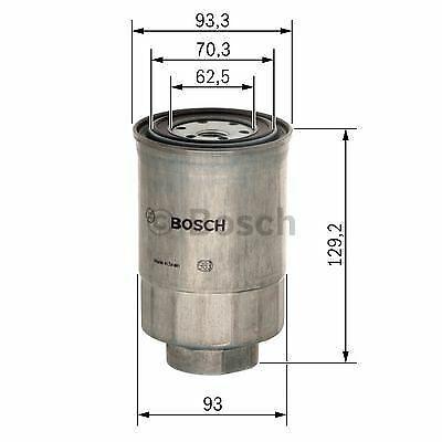 3.2 DI-D livraison rapide Mk4 Bosch Filtre à carburant convient MITSUBISHI SHOGUN PAJERO
