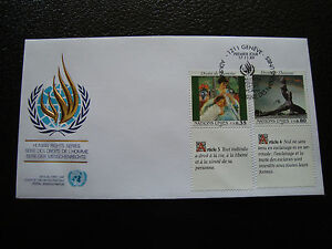 United-Nations-Geneve-Envelope-1er-Day-17-11-1989-cy33-United-Nations-A