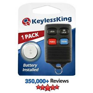 2 Pack Discount Keyless Replacement Trunk Shell Case and Button Pad Compatible with GQ43VT4T