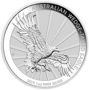 2019-P-Australia-1-oz-Silver-Wedge-Tailed-Eagle-1-Coin-GEM-BU-Coins-SKU56676