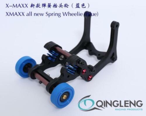 Nouveau Printemps Wheelie Bar RAISE UP pour Traxxas X-MAXX XMAXX 1//5 RC voiture