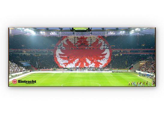 Hartschaum WandBild Eintracht Frankfurt  Arena Fan Panorama Fußball Bundesliga    Marke