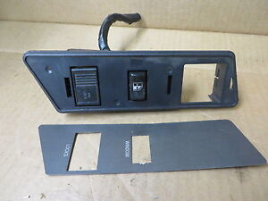 OLDSMOBILE-CUTLASS-4-DOOR-SEDAN-1991-POWER-WINDOW-LOCK-SWITCH-BEZEL-Rh-front