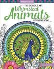 KC Doodle Art Whimsical Animals Coloring Book by Krisa Bousquet (Paperback, 2017)