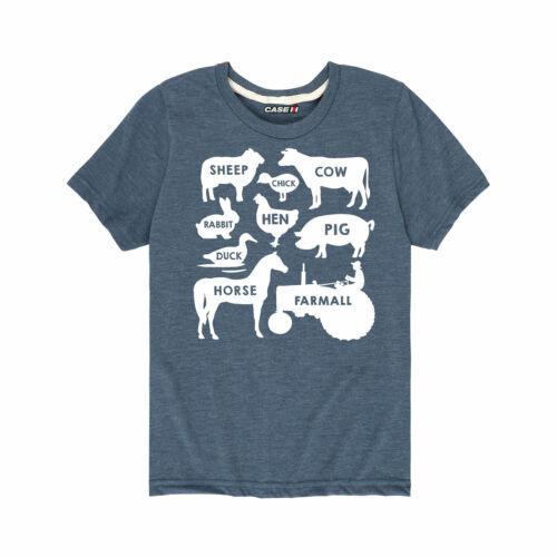 Toddler Short Sleeve Tee Farm Animals Farmall