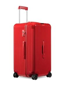 Rimowa Red Essential Trunk Luggage Case