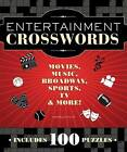 Entertainment Crosswords: Movies, Music, Broadway, Sports, TV, & More! by Sam Bellotto (Spiral bound)