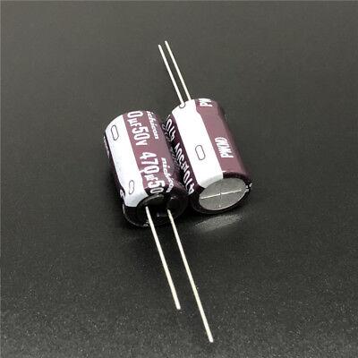 470uf 10v Radial Electrolytic Capacitor 10v470uf Nichicon PJ low ESR 10pcs-
