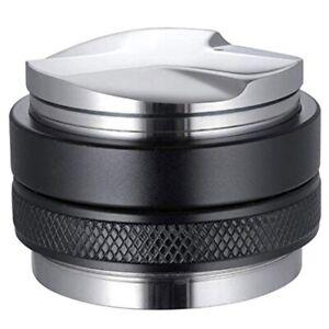 51mm-Espresso-Tamper-amp-Distributor-Dual-Head-Coffee-Leveler-Adjustable-DeW4G3