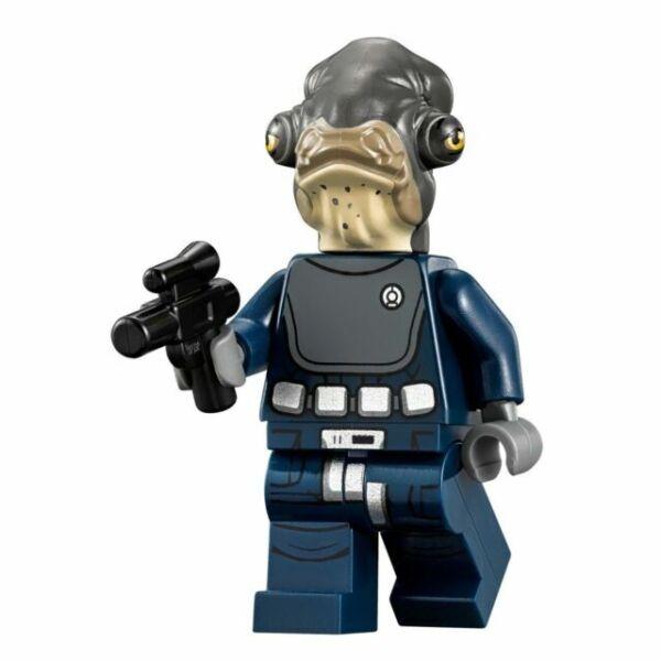 LEGO® STAR WARS™ 75172 ADMIRAL RADDUS™ Rogue One Minifigure blaster 100/% LEGO
