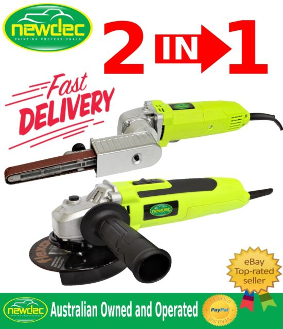 "ANGLE GRINDER 115MM 4"" ELECTRIC 500W WITH BONUS BELT SANDER QUALITY LIKE MAKITA"